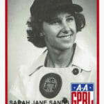 """Sarah Jane """"Salty"""" Sands Ferguson is in A League of Her Own"""
